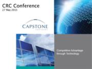 Capstone Partners presentation Australia 2040