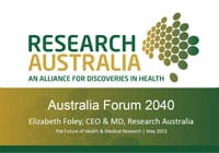 Elizabeth Foley presentation Australia 2040