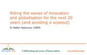 Stefan Hajkowicz presentation Australia 2040