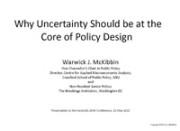 Warrick McKibbin presentation Australia 2040