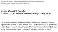 Murray Scott presentation Australia 2040