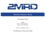 2MRD presentation