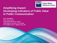Amplifying Impact presentation