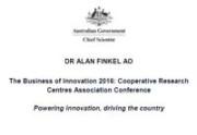 Dr Alan Finkel AO presentation