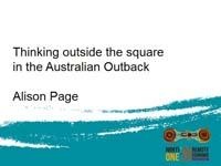 Alison Page presentation