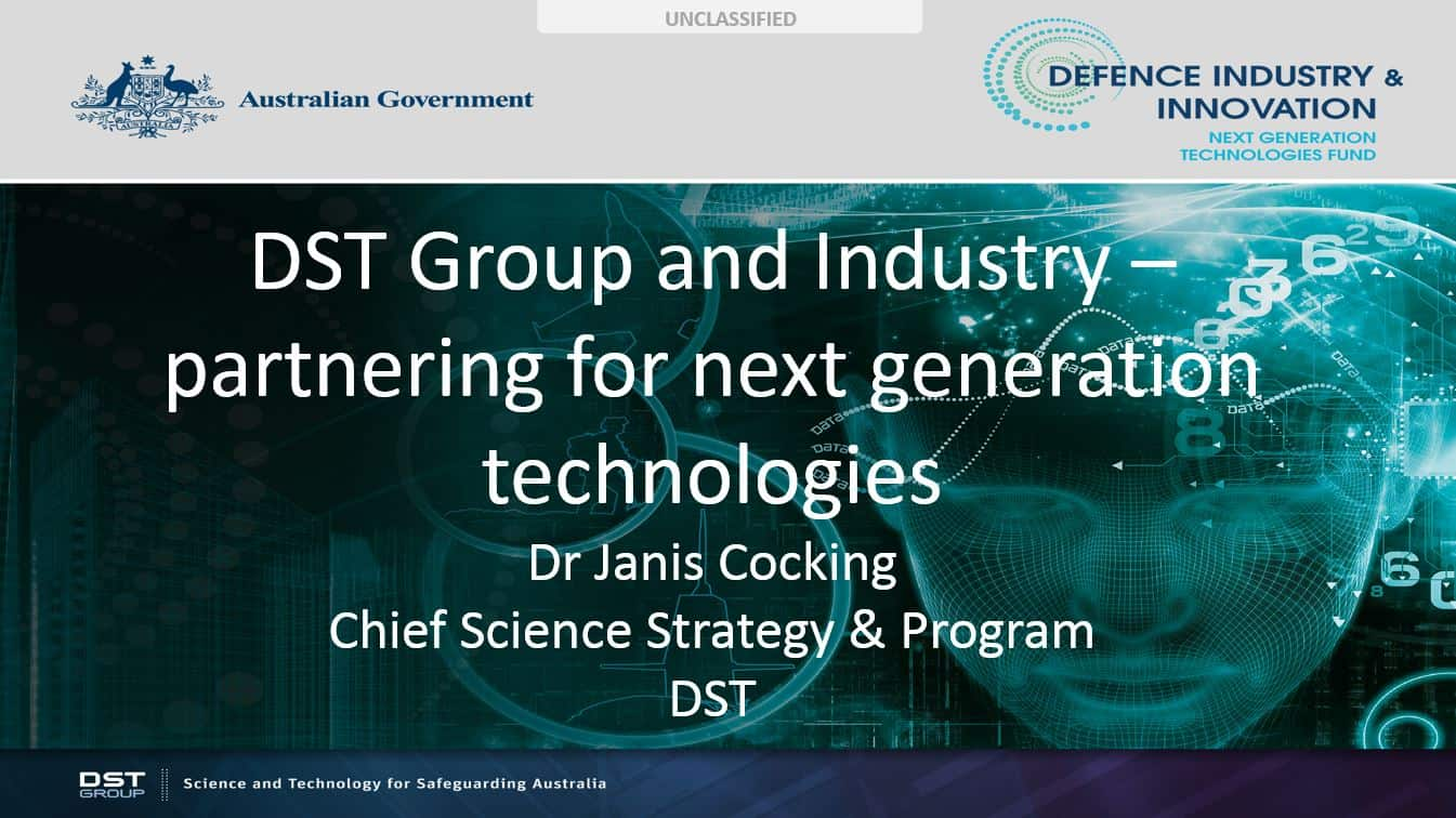 DST Group and industry