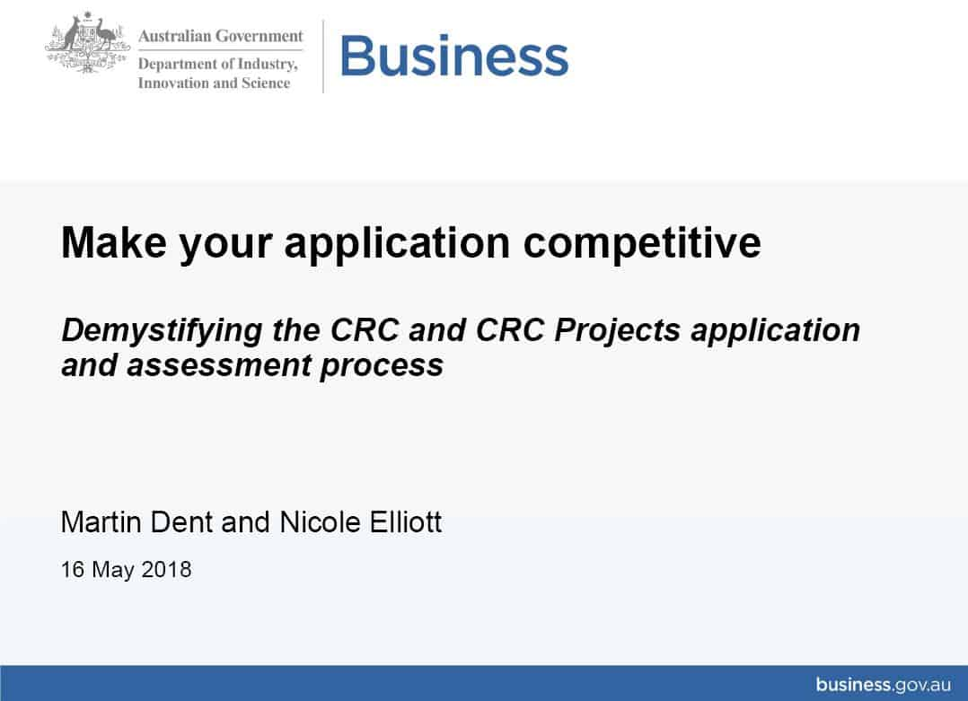 Make your application competitive